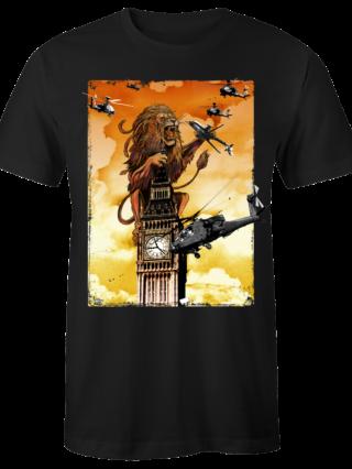 """T-Shirt """"Lion Dred"""" (schwarz)"""