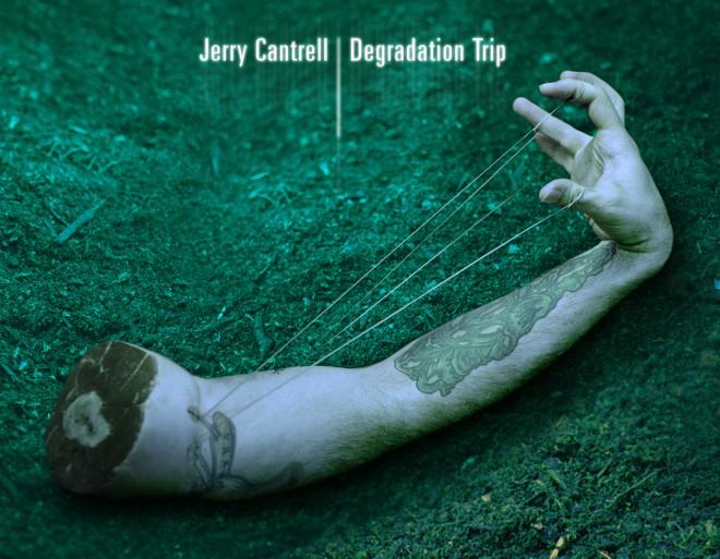 Jerry Cantrell Album Cover Degradation Trip