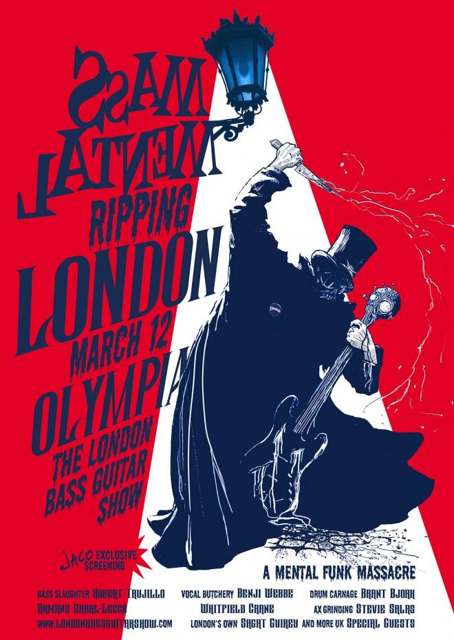 Mass Mental ripping London – Olympia