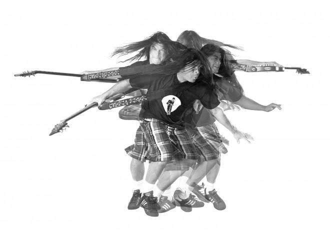 Metallica Robert Trujillo Signature Spin Artwork
