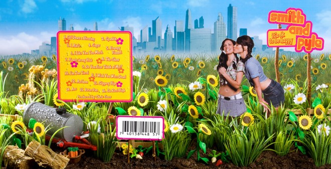 "Smith & Pyle (Shawnee Smith & Missi Pyle) –Album Sleeve ""It's OK to be Happy"""